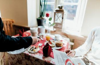 Frühstücksbuffett im Ammerland