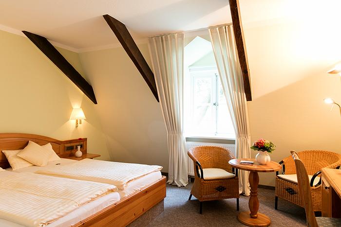 Stadthauszimmer im Hotel Altes Stadthaus in Westerstede
